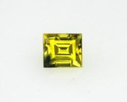 0.39cts Natural Australian Gold/Yellow Sapphire Baguette Cut