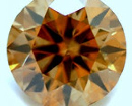 NATURAL BROWNDIAMOND-0.80CTW-1PCS,6MM,NR