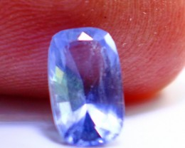 1.05 Cts Rare Tenebresent Color Change Purple Hackmanite Gemstone