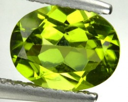 1.99 Cts Natural Pakistan Green Peridot Oval Cut Gem