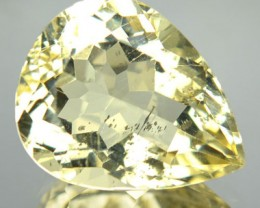 5.96 Cts Natural Golden Yellow Scapolite Pear Cut Tanzania Gem