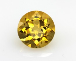 4.15cts Golden Yellow Citrine Round Shape