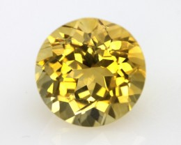 4.59cts Golden Yellow Citrine Round Shape