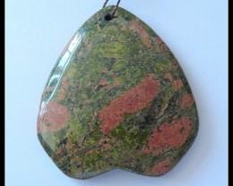 133Ct Natural Unikaite Jasper Pendant Bead(D0021)