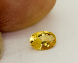 0.425Ct Natural coloured Citrine