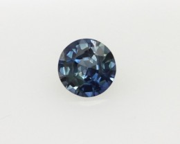 0.40cts Natural Australian Blue Sapphire Round Cut