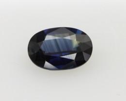 1.15cts Natural Australian Blue Sapphire Oval Cut