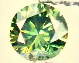 NATURAL GREENYELLOWDIAMOND-2.5MMSIZE-VVS-1PCS,NR