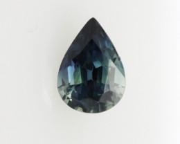 0.93cts Natural Australian Blue Sapphire Pear Shape