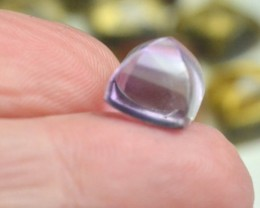 10mm Amethyst sugar loaf gemstone