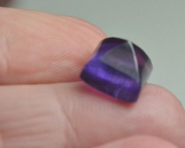 Amethyst sugar loaf gemstone cabochon 10mm