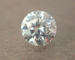 NATURAL WHITE DIAMOND-4MMSIZE-EF-VS,O.25CTWSIZE-1PCS,NR