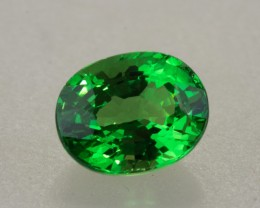 2.03ct Tsavorite Garnet Oval Cut