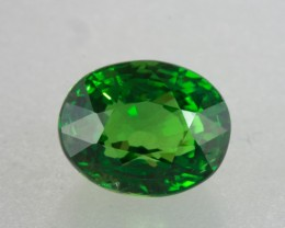 2.07ct Oval Cut Tsavorite Garnet
