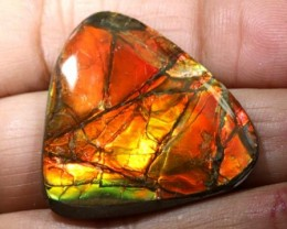 23.75 CTS  FLASHY AMMOLITE GEMSTONE TBM-828