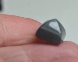 Grey Moonstone sugar loaf gemstone cabochon 10mm by 8.5mm