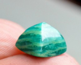 Amazonite sugar loaf gemstone cabochon 10mm by 8.5mm