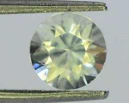 GiL Certified 1.53 ct Natural White Zircon Combodia