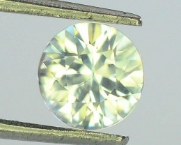 1.38 ct Natural White Zircon Combodia