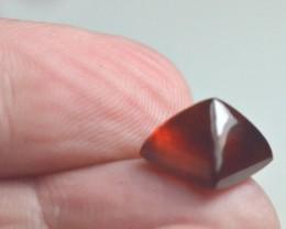Garnet sugar loaf gemstone cabochon 10mm by 8.5mm