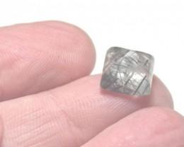 rutile quartz sugar loaf gemstone cabochon 10mm by 8.5mm