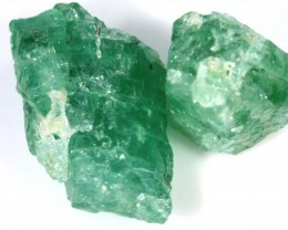 12 CTS EMERALD ROUGH  PARCEL RG-1860