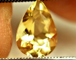 1.58 Carat VVS Brazil Golden Beryl - Fun