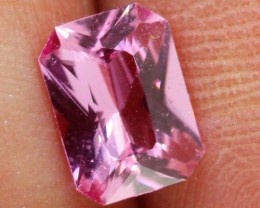 "0.90 CTS ""certified"" NATURAL CEYLON  PINK SAPPHIRE ANGC-581"