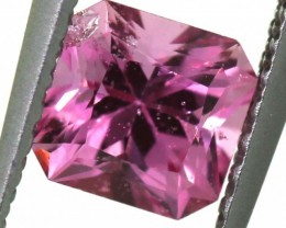 "0.74 CTS ""certified no heat"" CEYLON PINK SAPPHIRE ANGC-584"