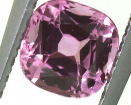 """0.56 CTS  """"certified"""" unheated PINK SAPPHIRE ANGC-585"""