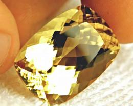 30.91 Carat VVS Natural Golden Andesine