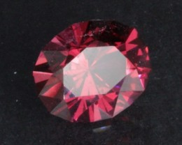 2.25 ct PINK/RED GARNET - MASTER CUT!  VVS!  INCREDIBLE COLOR!