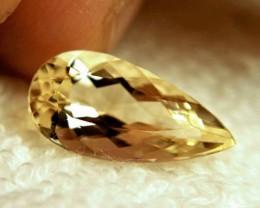 5.55 Carat Golden Brazil VVS1 Beryl - Gorgeous
