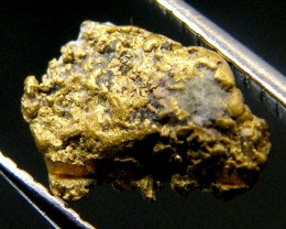 .62 Grams Espadarte Shipwreck of 1558 Gold Nugget CO 185