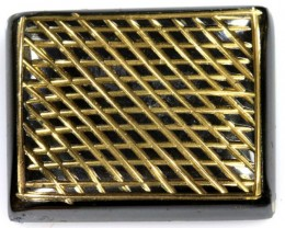 53 CTS BLACK ONYX 24K GOLD ENGRAVED TBG-2363