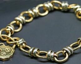 20.4 GRAMS 9K GOLD BRACELET L424