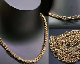 27.2 grams 9 K GOLD CHAIN ROSE GOLD   L415