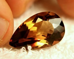 21.3 Ct. VVS Brazil Golden Brown Topaz
