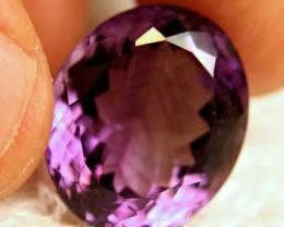 22.4 Ct. Natural Brazil Purple VS Amethyst - Lovely