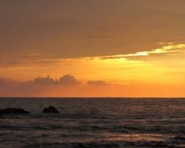 Sunset.  Kailua Kona, Hawaii.