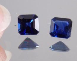 1.25ct Sapphire Pair