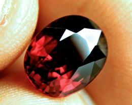5.67 Carat IF/VVS1 African Rhodolite Garnet - Superb