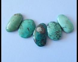 32.5Ct Turquoise Gemstone Cabochons Parcel
