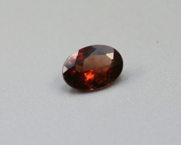 RHODOLITE GARNET OVAL SHAPED GEM
