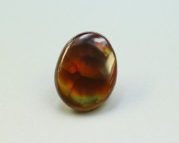 FIRE AGATE OVAL CABOCHON GEMSTONE