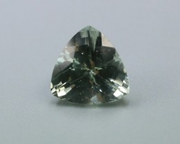 PRASIOLITE LARGE TRILLION GEMSTONE