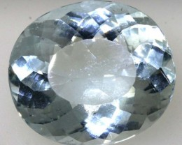 5.90 CTS AQUAMARINE FACETED GEMSTONE CG-2070