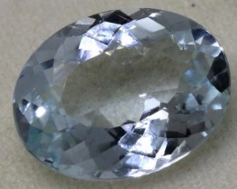 6.50 CTS AQUAMARINE FACETED GEMSTONE CG-2072