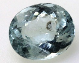 8.10 CTS AQUAMARINE FACETED GEMSTONE CG-2078