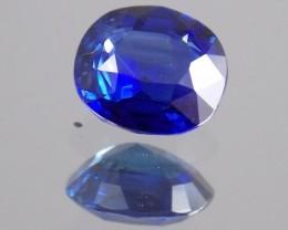 1.720ct Cushion Cut, Deep Blue Sapphire.